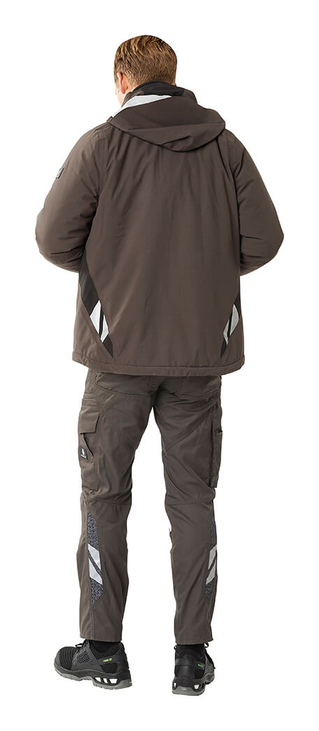 Grey - Trousers & Work Jacket - Man - MASCOT® ACCELERATE