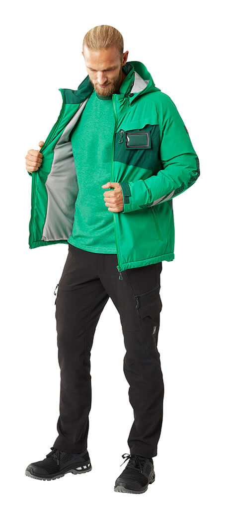 Man - Trousers, Sweatshirt & Work Jacket - Green - MASCOT® ACCELERATE