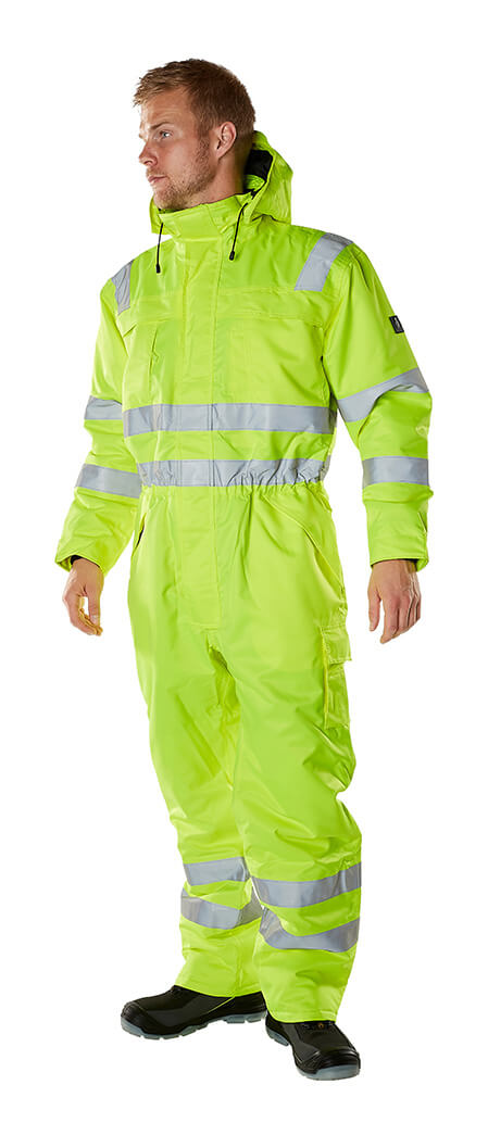 Winter Boilersuit - MASCOT® SAFE ARCTIC Fluorescent yellow - Model
