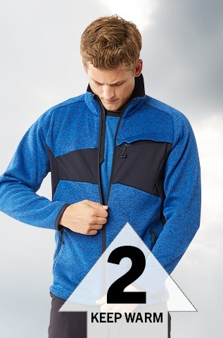 Work Jumper - Layer 2 - A warm layer with insulating lining