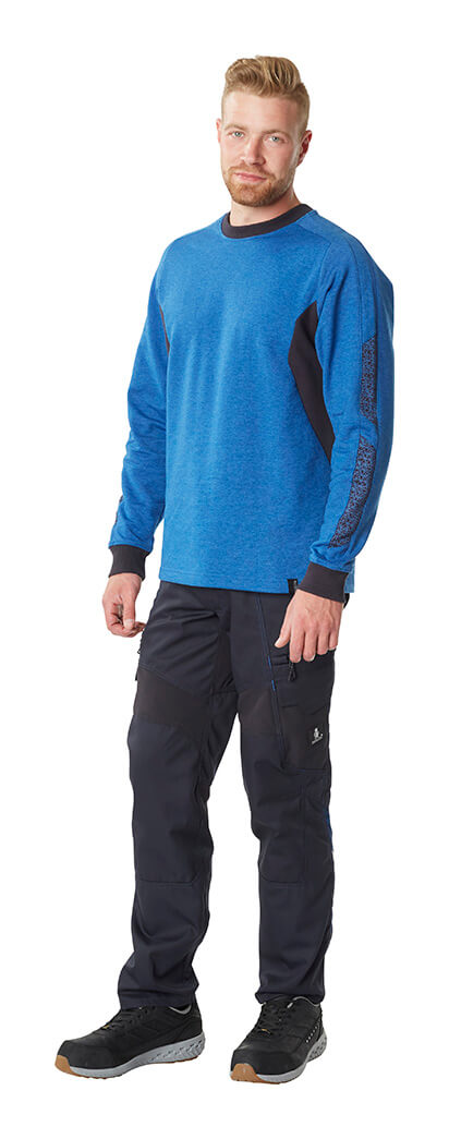 Royal blue & Black - Work Jumper & Trousers - MASCOT® ACCELERATE - Model