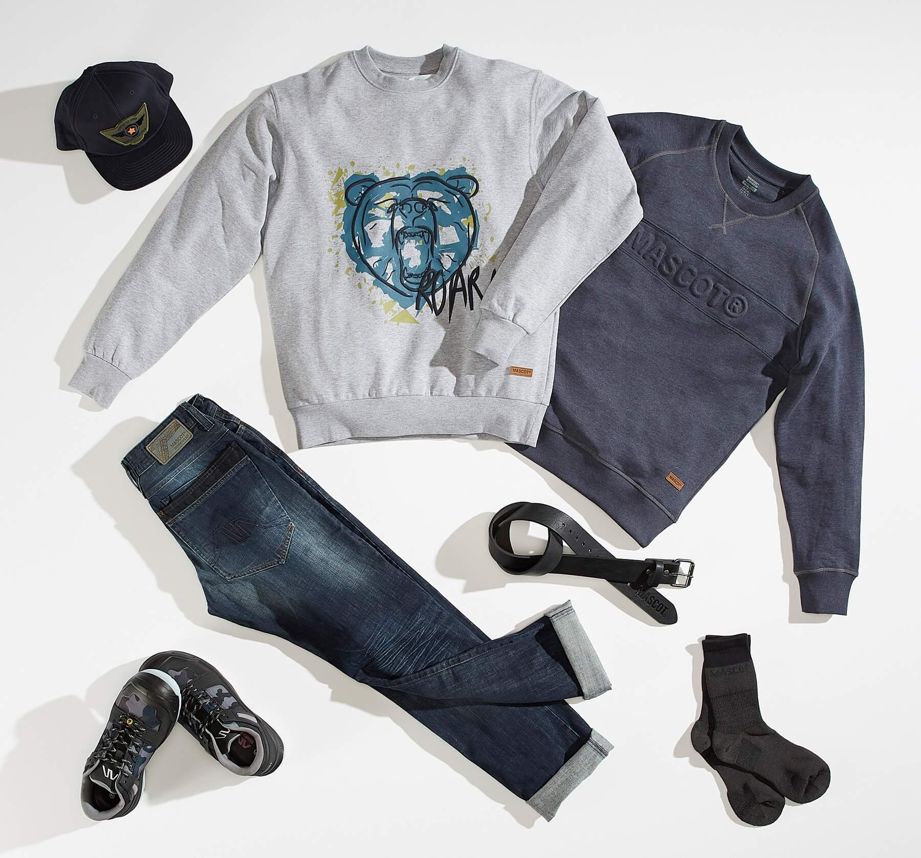 Collage - Sweatshirts, Jeans & Accessories