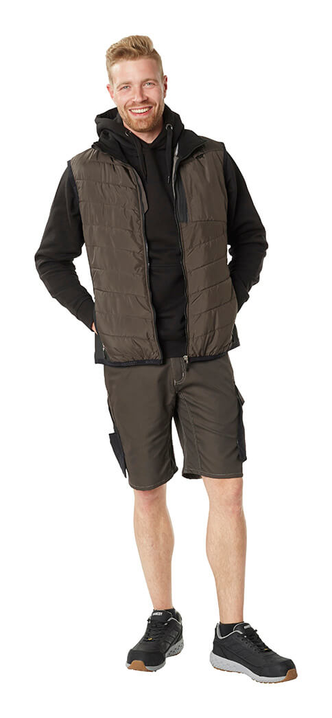 Work Shorts, Hoodie & Gilet - Grey - MASCOT® UNIQUE