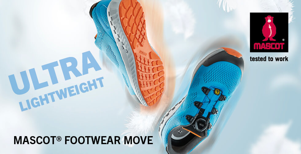 Ultra-lightweight safety footwear  with flexible midsole