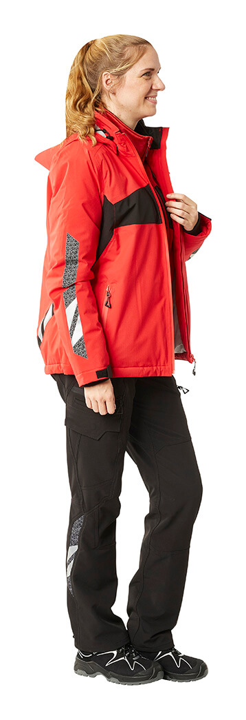 Winter Jacket & Trousers - Red & Black - Woman - MASCOT® ACCELERATE