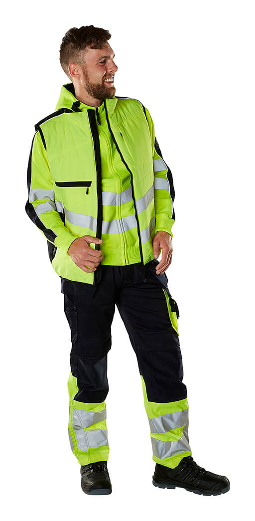 Gilet, Jumper & Work Trousers - MASCOT® SAFE SUPREME - Fluorescent yellow - Model