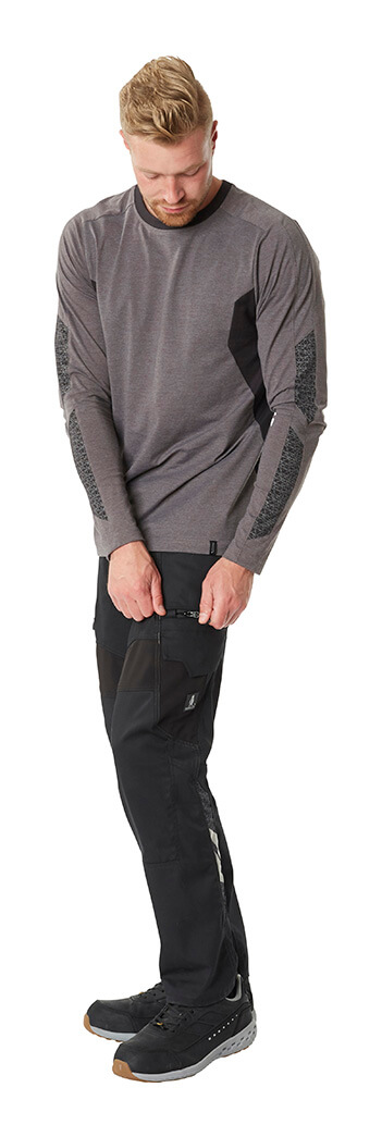 Sweatshirt & Work Trousers - Grey - MASCOT® ACCELERATE - Man