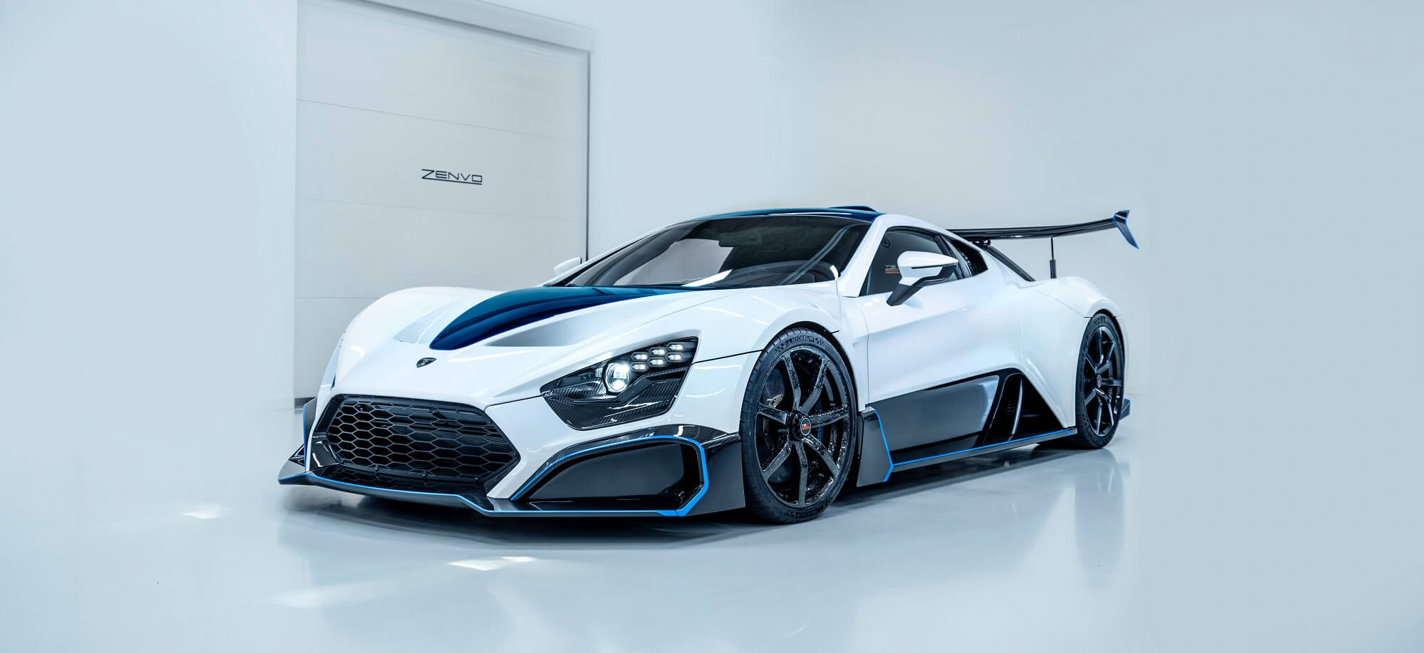 Zenvo Car - White