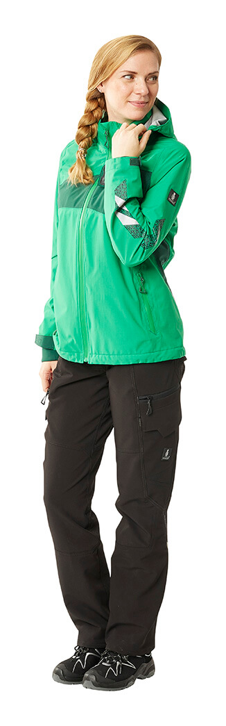 Green - Work Jacket & Trousers - MASCOT® ACCELERATE - Woman