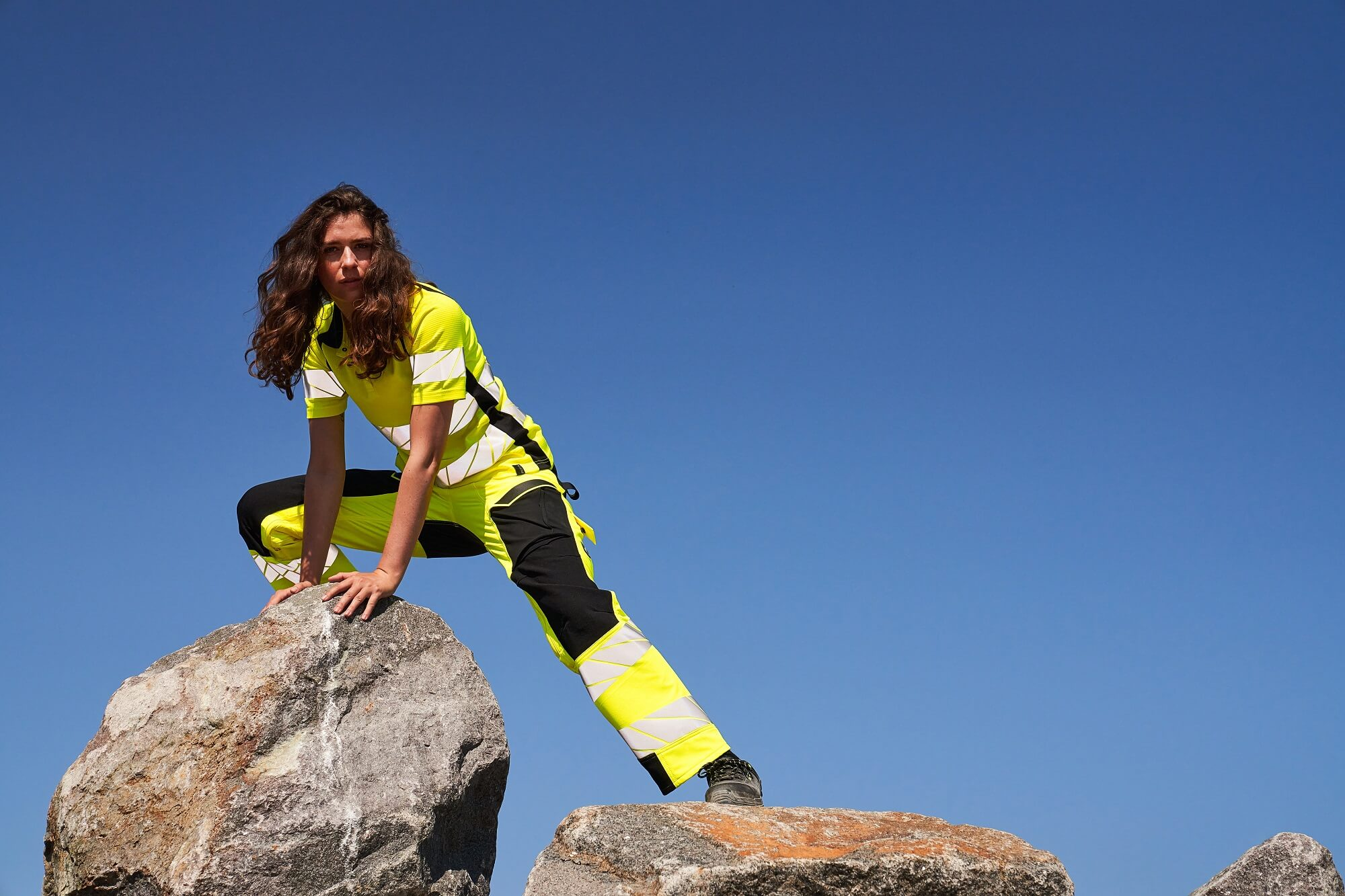 Workwear Fluorescent yellow - Woman - MASCOT® ACCELERATE SAFE