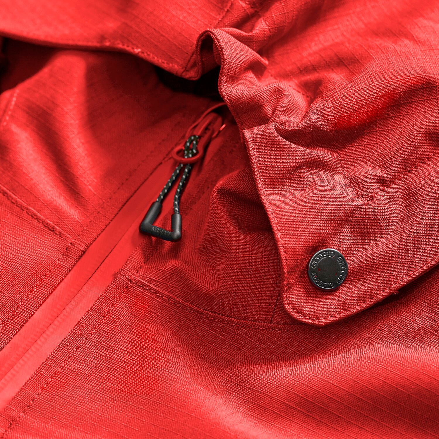 Red - Work Jacket - MASCOT® ACCELERATE - Detail