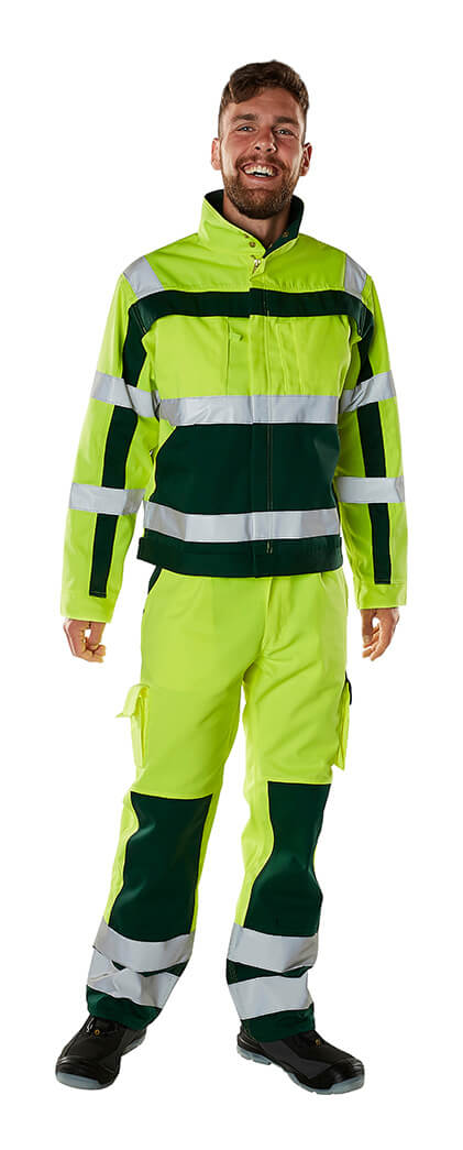 Fluorescent yellow - MASCOT® SAFE COMPETE Workwear - Model