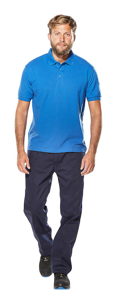 Man - Polo shirt & Trousers - Royal blue