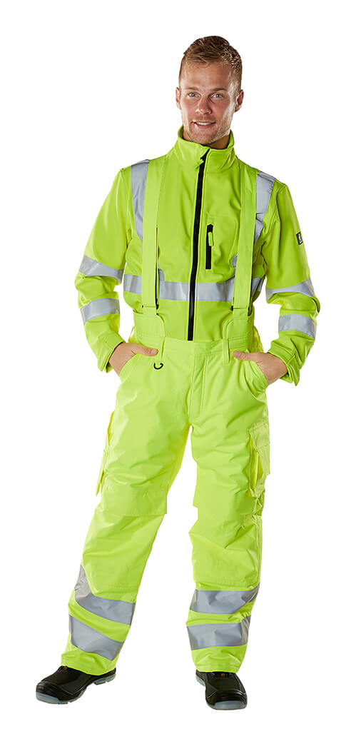 Bib & brace & Jumper - MASCOT® SAFE ARCTIC - Fluorescent yellow - Model