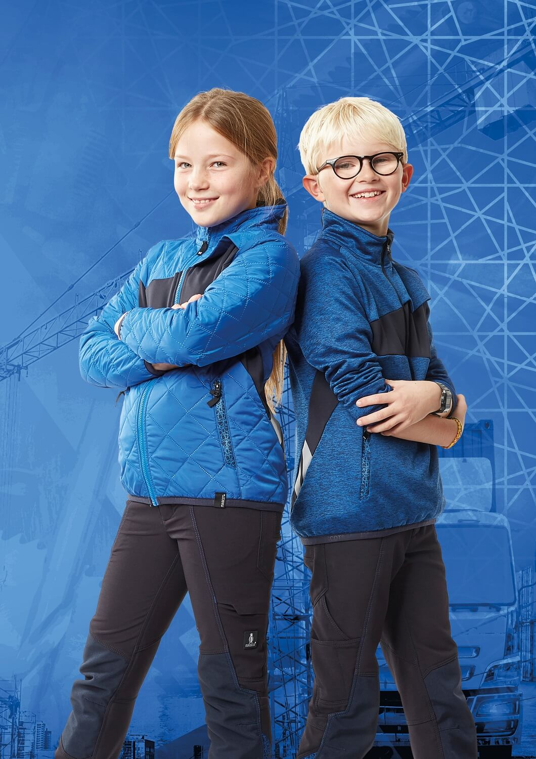 MASCOT® ACCELERATE Brand DNA - Children's Clothing - Royal blue