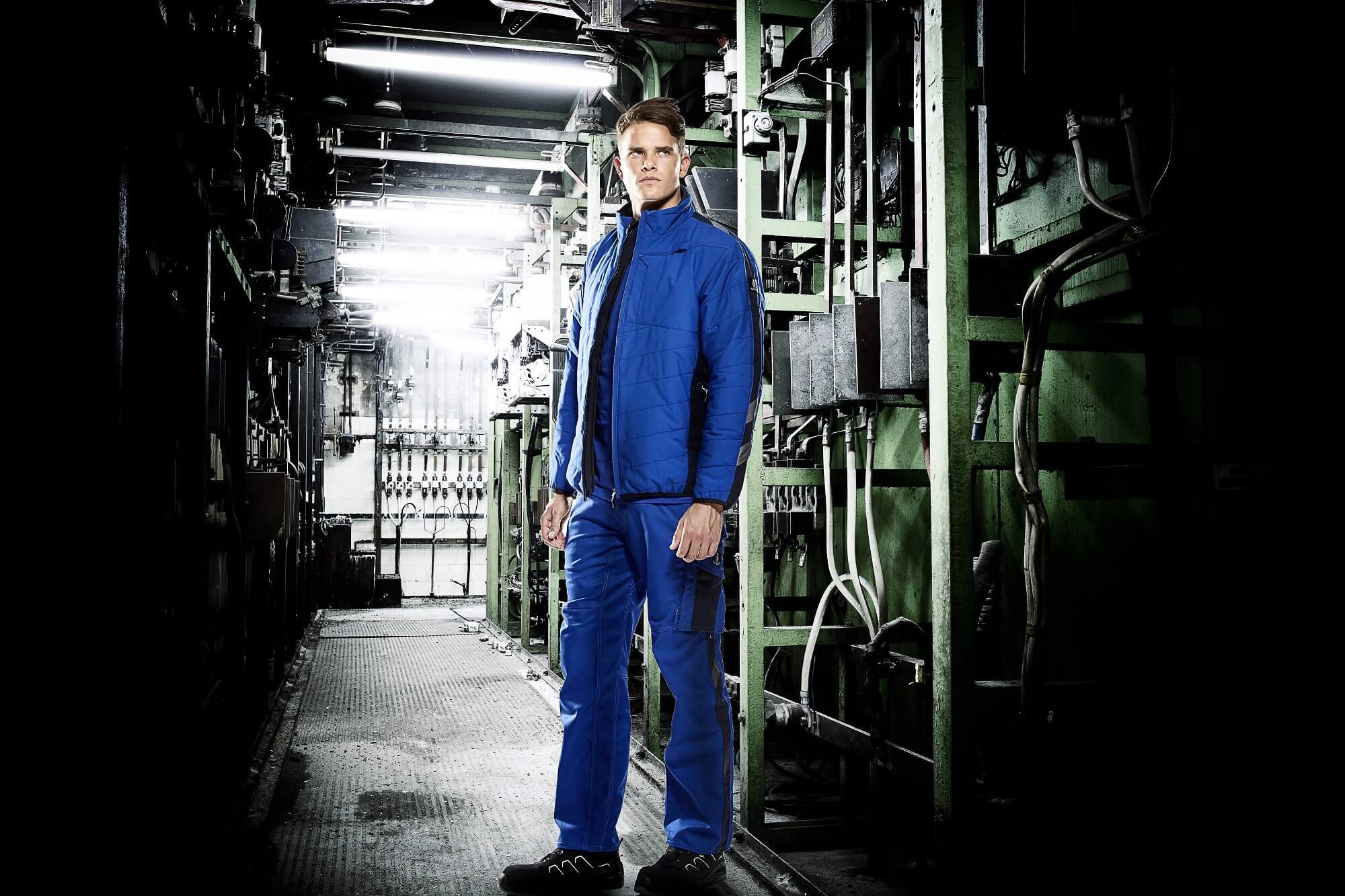MASCOT® UNIQUE Thermal Jacket & Work Trousers - Royal blue - Environment