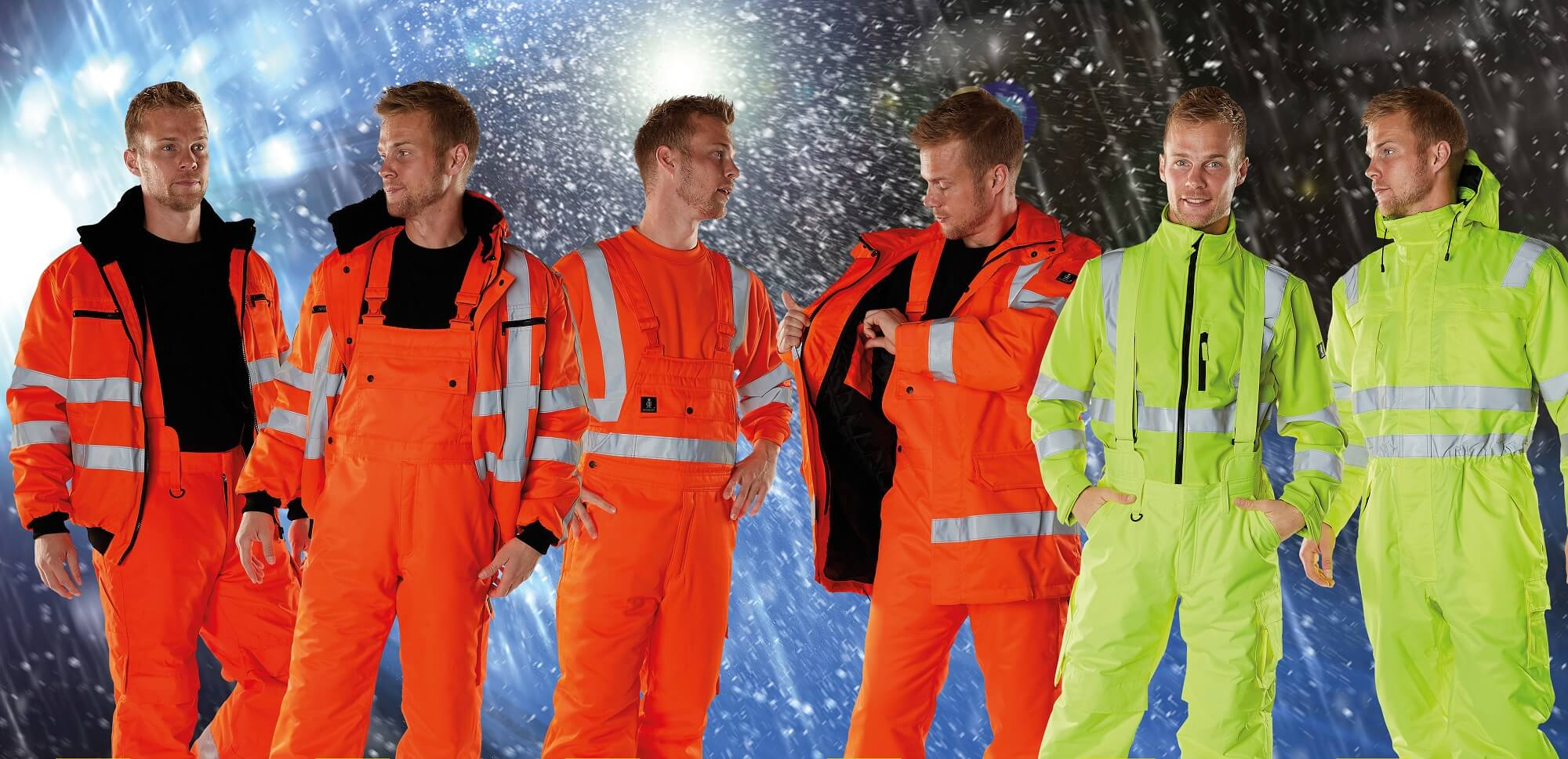 Winter Clothing - Fluorescent yellow & Fluorescent orange - MASCOT® SAFE ARCTIC
