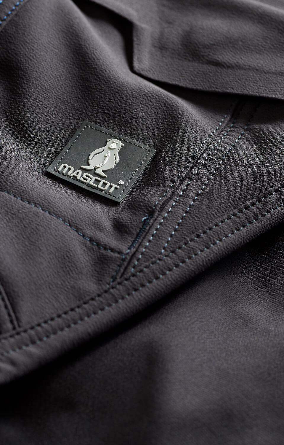 Navy - Trousers - Detail - MASCOT® ACCELERATE