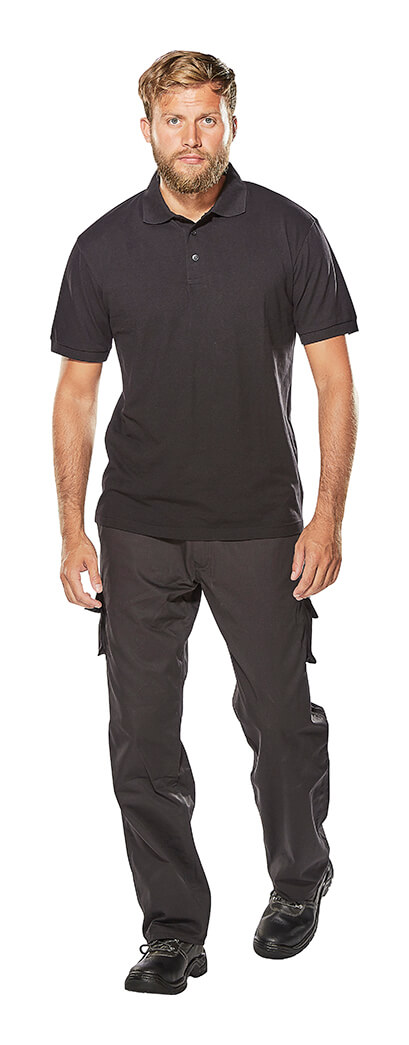 MACMICHAEL® Trousers & Work Polo Shirt - Model