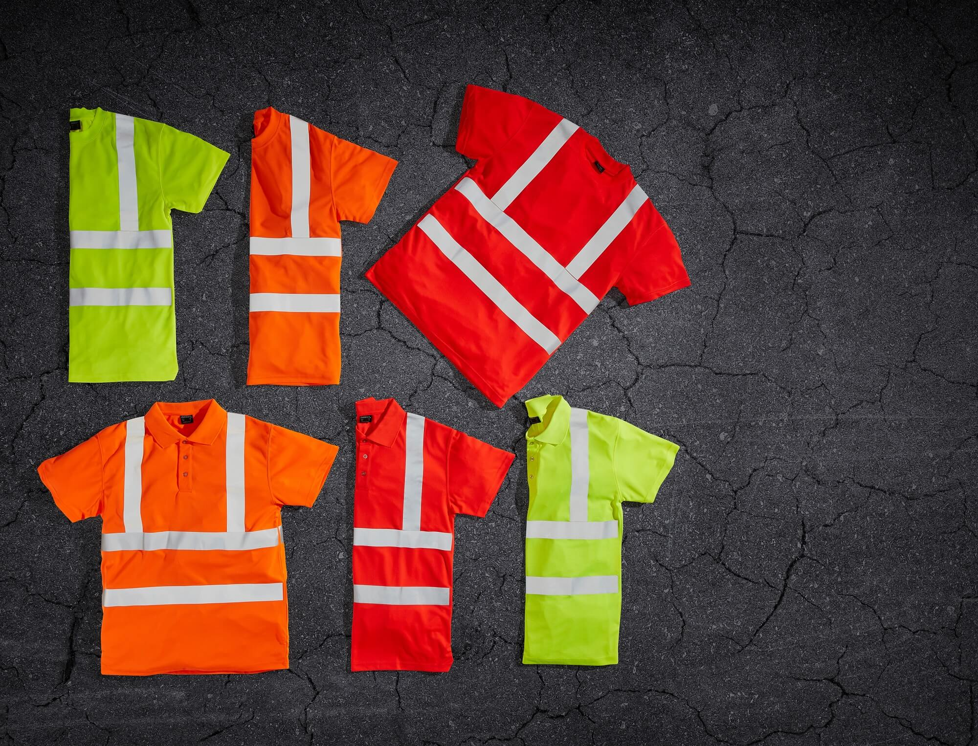 Hi-vis T-shirts & Hi-vis Polo Shirts - Safety clothing