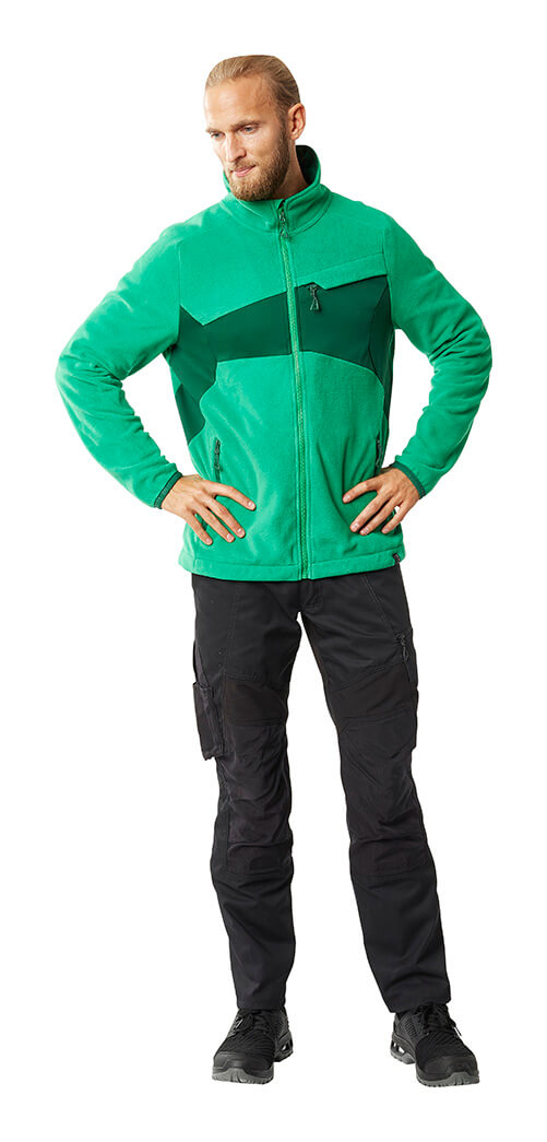 Jacket Green & Trousers Black - MASCOT® ACCELERATE - Man