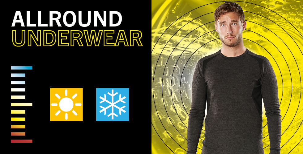 New all-round functional underwear