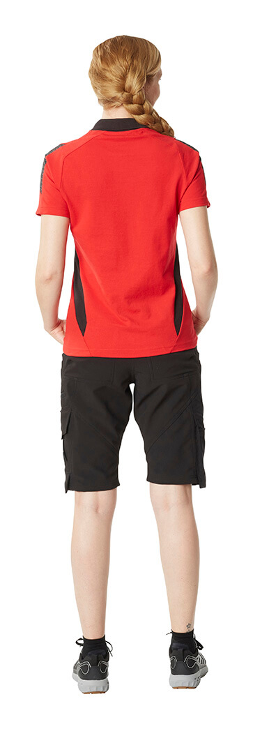 Polo shirt for women  & Shorts - Red & Black - MASCOT® ACCELERATE