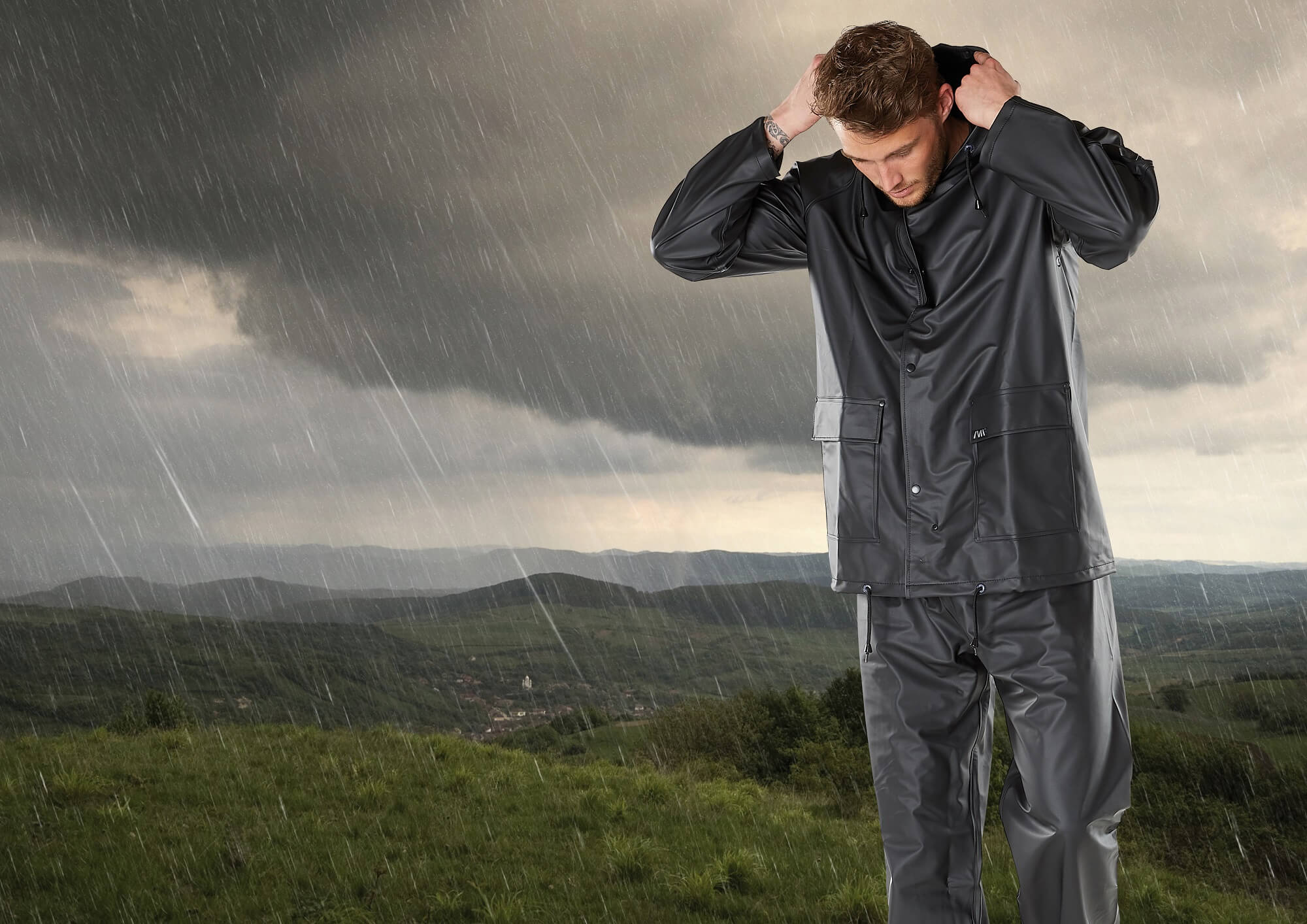 Rain Jacket & Trousers - MACMICHAEL® WORKWEAR